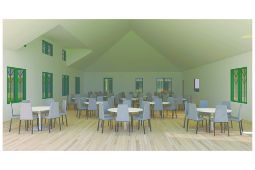 Fellowship Hall Concept 1